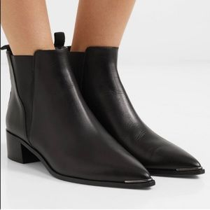 🍂ACNE / black Jensen boots 🍂
